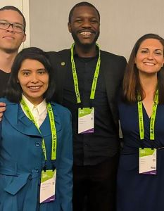 LatinX in Artificial Intelligence conference attendees